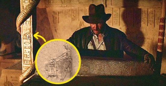R2-D2 juga muncul di film action Amerika, Raider of the Lost Ark. Namun kali ini sia tidak sendiri, ia tampak bersama C-3PO di salah satu tiang candi.