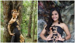 10 Bukti Jika Wanita Keturunan Suku Dayak Mempunyai Kecantikan Alami yang Memukau