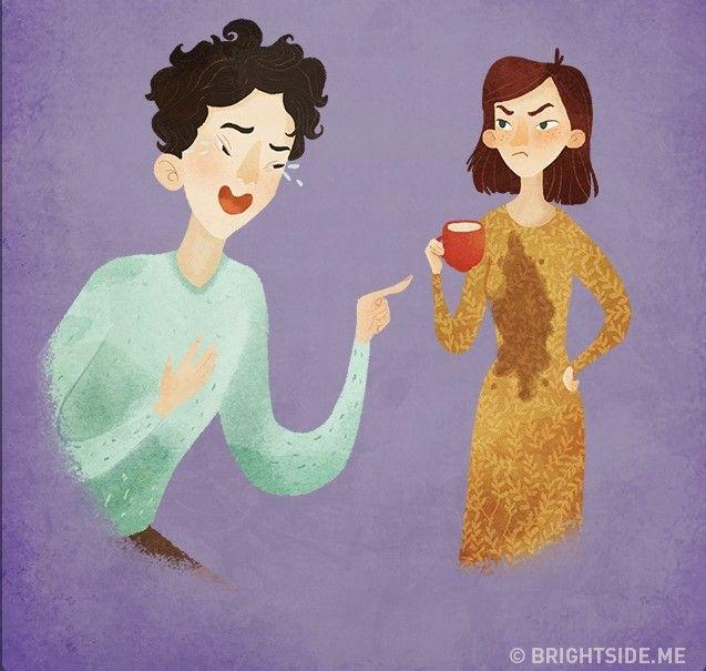 Orang menyebalkan yang suka menertawakan kesialan orang lain. Seharusnya kita sebagai manusia harus saling menolong, bukan menertawakan!