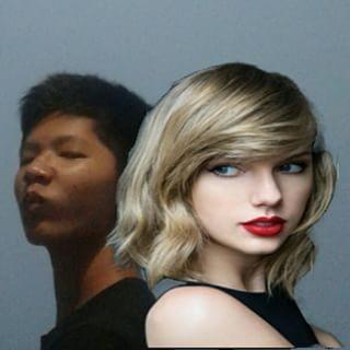 Mbak Taylor Swift yang sabar ya, ini ujian. Mungkin tuh cowok ngefans banget sama mbak jadi sampai segitunya.