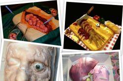 Suka Nuansa Horor, Berani Gak Makan 8 Kue Menyeramkan Ini? Tidak untuk Anak-Anak Lho Ya !