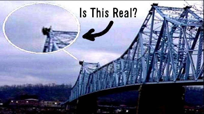 Sosok menggemparkan pertama adalah penampakan makhluk yang dijuluki dengan The Moth Man di atas jembatan West Virginia, Amerika Serikat tahun 1966 silam pulsker. Konon, sosok ini bisa terbang dan matanya memancarkan sinar merah.