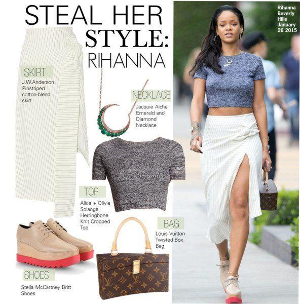Rihanna Ini bukan seleb lokalnya sih, ini hanya contohnya aja..bisa bayangin kan? Trus kalau seleb lokalnya gimana ya? Cek foto selanjutnya..