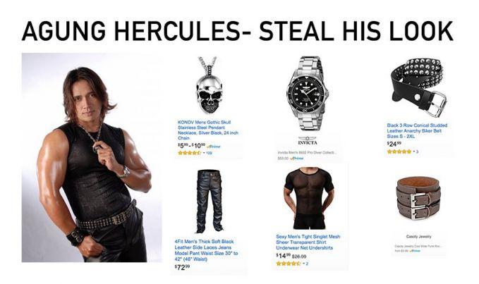 Agung Hercules Aww..klimis abiss, lihat deh Steal His Looknya dia, cool abiss.