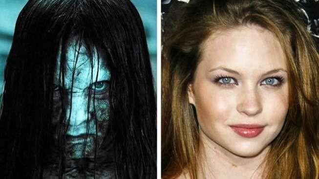 """Wajah cantik Daveigh Chase berubah drastis ketika dia memerankan sosok Samara dalam film """"The Ring"""" tahun 2002 pulsker. Dia terlihat menyeramkan sekali ya?."""