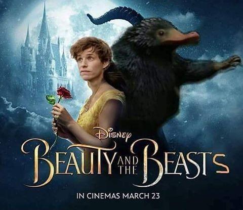 Nah lho, ini sebenarnya poster film Fantastic Beast atau Beauty and The Beast ya?