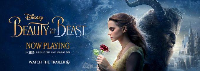 Nah, ini baru cover film Beauty and The Beast yang asli..Jangan lupa nonton ya tanggal 23 Maret 2017 besok..