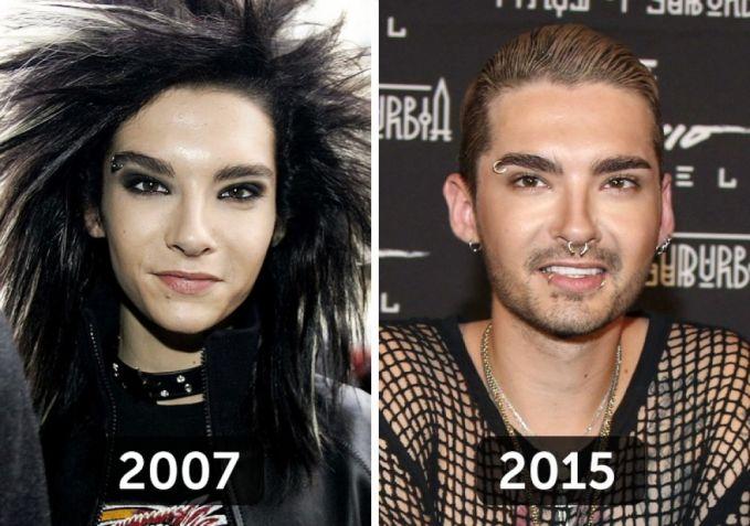 Ini adalah Bill Kaulitz dari band rock Tokio Hotel. Saat di era keemasannya Bill selalu tampil dengan gaya rambut nyentrik dan banyak yang bilang justru mirip seorang cewek. Tapi sekarang dia nampak lebih macho pulsker.