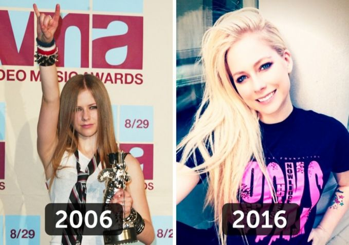 Sama juga nih sama si Avril Lavigne. Pelantun lagu Sk8er Boy ini sampai saat ini semakin tua semakin menampakkan pesonanya. Di panggung pun masih tetap enerjik ya pulsker.