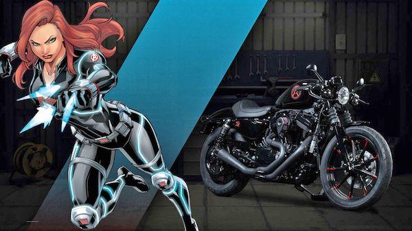 Selain Wonder Woman, sosok superhero cewek yang punya kekuatan super sakti adalah si Black Widow. Dia sampai dibikinkan motor lho sama pabrikan Harley-Davidson. Cewek-cewek motor makin keren kalau pakai motor ini nih.