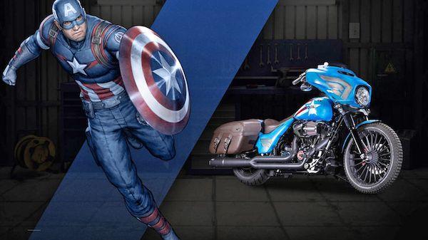 Kini Captain America pun tak perlu capek-capek berlari-lari ya pulsker, karena kini sudah dibikinin motor tuh sama pabrikan Harley-Davidson. Jadi makin keren nih saat membasmi kejahatan....bruuum. Jadi pengen punya kan pulsker setelah lihat-lihat motor besutan Harley-Davidson yang terinspirasi dari sosok superhero tersebut?. (Baca juga ratusan artikel menarik lainnya di http://www.pulsk.com/u/242329)