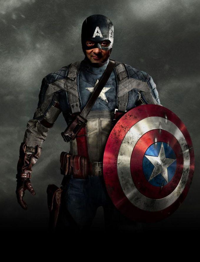 CapBean America nih Pulsker! Yah, walaupun engga begitu mirip karena ketutupan topeng...