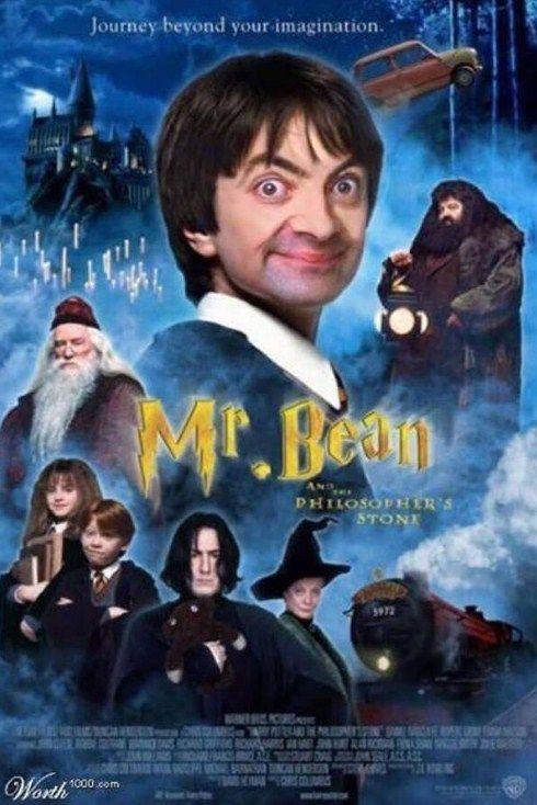 Sumpah, mukanya ngeselin banget kalo jadi Harry Bean... XD.