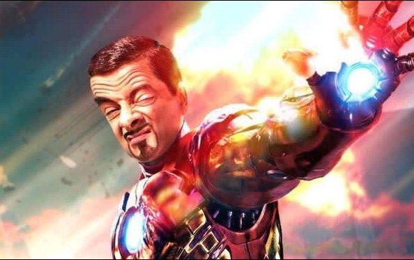 Ini mah musuhnya si CapBean Amerika tadi, Iron Bean...! But wait, itu kepanasan om?