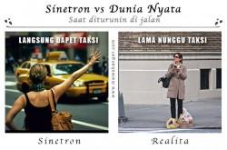 Deretan Realita vs Logika Sinetron yang Nggak Masuk Akal