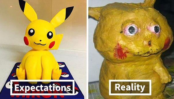 Ngaku deh, ini pasti bentuk Pokemon terseram yang pernah kamu lihat. Pokemonnya obesitas kali?!