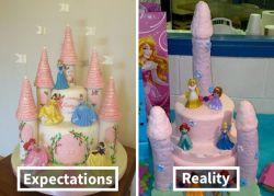 Ekspektasi vs Realita Bentuk Cake Ini Bakal Bikin Kamu Ngakak Parah!
