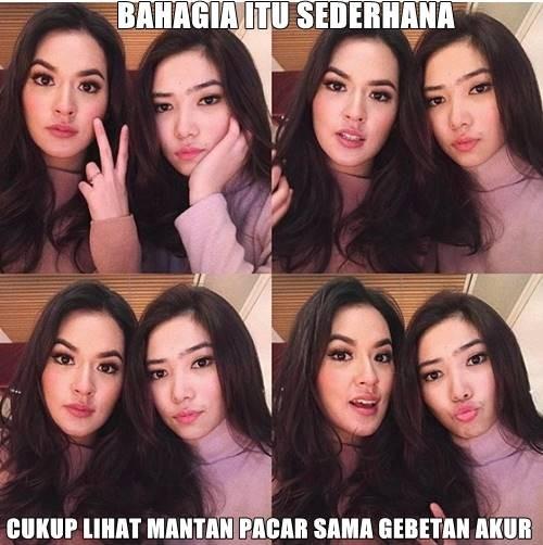 Sederhana lah, kaya rumah makan Padang.. :V