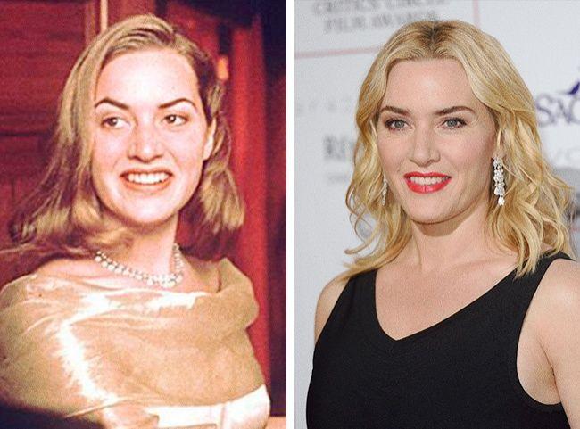 Ini dia pasangannya Leonardo DiCaprio dalam film Titanic, Kate Winslet yang kini berusia 41 tahun. Auranya udah terpancar sejak bermain film 'Heavenly Creatures' tahun 1994 silam ya.