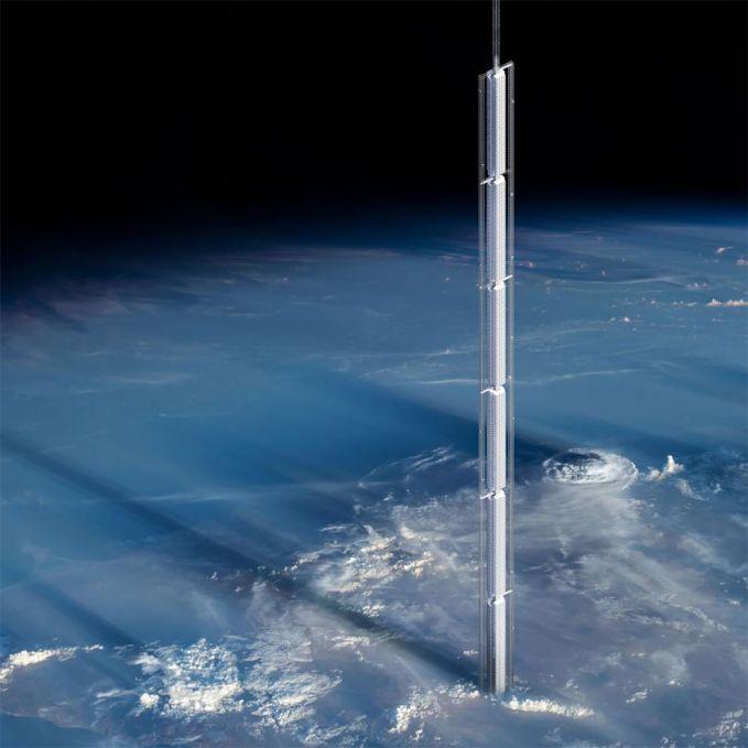 Beginilah gambaran gedung pencakar langit Analemma Tower ini pulsker. Saat berada disana kita seolah sedang berdiri di sebuah lautan yang luas banget. Butuh berapa hari ya buat naik kesana?.