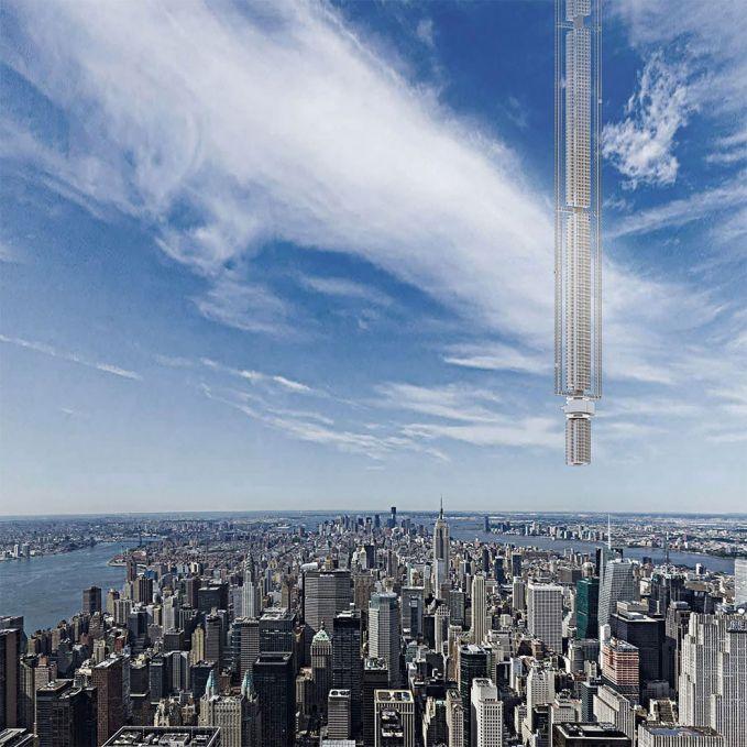 Bandingkan dengan gedung-gedung pencakar langit yang ada di daratan pulsker. Gak ada apa-apanya kan?. Benar-benar gede dan tinggi banget.