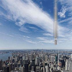 Gokil, Arsitek Ini Berencana Membangun Gedung Pencakar Langit yang Digantung dari Asteroid di Angkasa