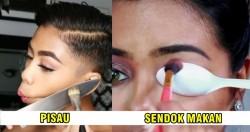 Nggak Cuma Buat Masak, Ternyata Alat Dapur Ini Juga Bisa Untuk Keperluan Makeup lho!