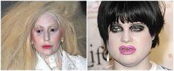 Deretan Makeup ala Aktris Hollywood Ini Malah Bikin Wajah Mereka Mengerikan..Kok Bisa