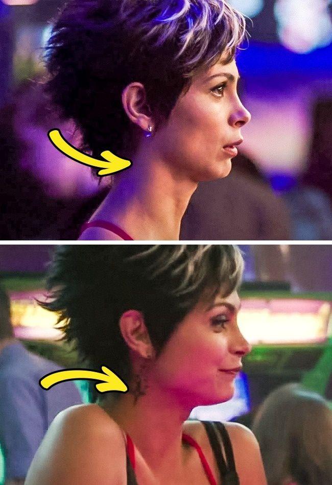 Di film yang sama, sbenernya Vanessa punya tato apa engga sih dilehernya? Apa karena kesalahan visualisasi?