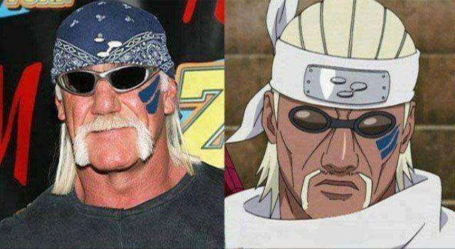 Hulk Logan dan Killer B dalam film Naruto juga mirip banget deh.