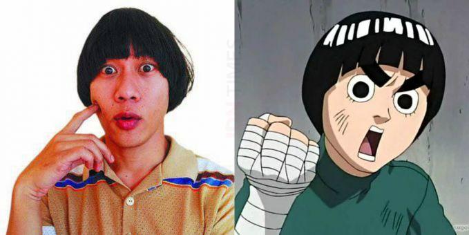 Dari Indonesia kita punya Qibil the Changcuters yang mirip dengan Rock Lee dalam film Naruto.