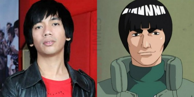 Setelah itu ada Rian dMassive yang gaya rambutnya dulu mirip dengan Master Guy (Naruto).