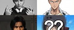 Kumpulan Selebritis yang (katanya) Mirip Tokoh Anime..Siapa Aja Ya?
