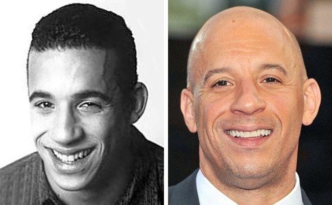 Jagoan lainnya dalam film adalah Vin Diesel pulsker. Dia dulu punya rambut lho pulsker dan pernah jadi bintang iklan sebuah apparel olaharaga di tahun 1980-an. Dulu gondrong, lalu perlahan mulai berganti gaya rambut pendek hingga akhirnya sekarang plontos.