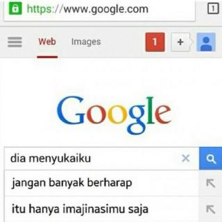 Mbah Google juga bisa ngebedain pulsker, mana hal yang nyata dan mana yang cuma sekedar imajinasi kalian saja.