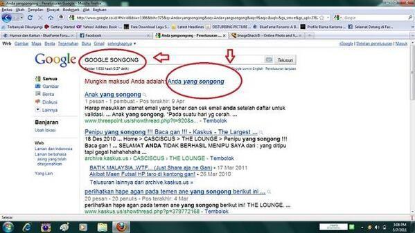 Yah, ngambek nih pulsker si Google habis dikatain orang-orang eh malah balik bilang orang yang songong. Lucu banget deh.