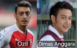 Wow... 8 Artis Indonesia yang Sepintas Mirip Dengan Pemain Sepak Bola Dunia