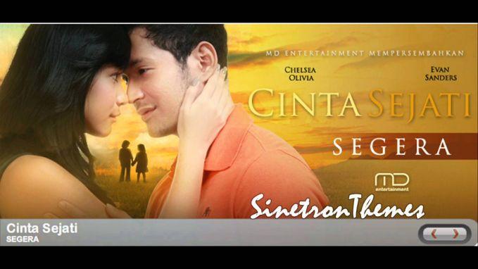 Mungkin karena orang Indonesia suka adegan romantis, makanya banyak banget sintron Indonesia dengan judul Cinta.