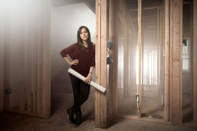 Walaupun masih muda, tapi Alison Goldblum tidak minder menjadi property developer di Philadelphia, Pennsylvania.