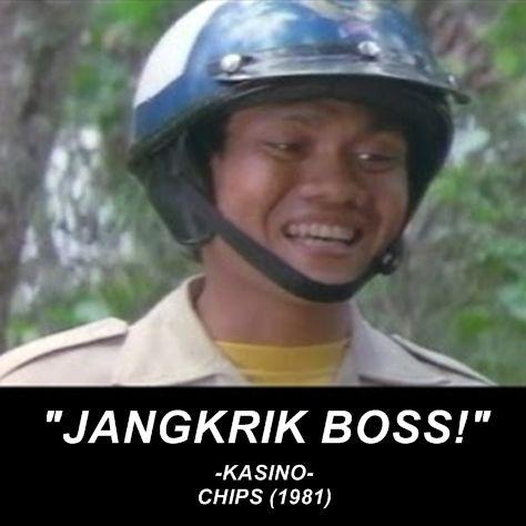 Siapa sih yang gak tau sama quote legend satu ini?. Sampai-sampai quote di film 'Chips' tahun 1981 ini jadi sub judul 'Warkop DKI Reborn' pulsker.