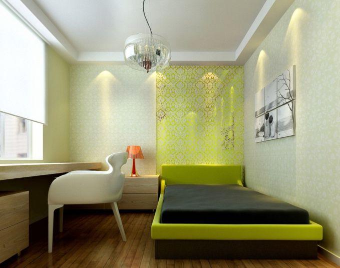 Bahkan jika kamu suka warna yang cerah, kamu juga bisa menerapkannya dalam kamarmu. Tak perlu banyak perabotan, sesuaikan dengan keperluanmu. Dan yang penting bisa membuatmu nyaman.