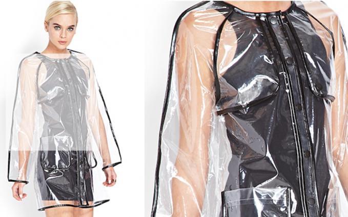 Jas hujan yang sangat fashionable, cocok banget buat kamu pecinta gaya.
