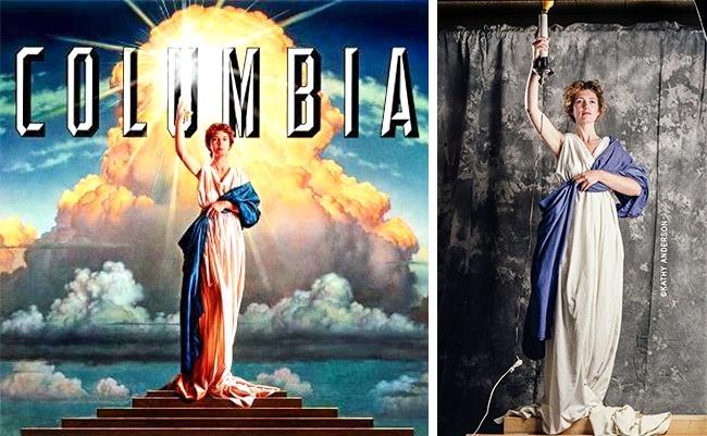 Studio Columbia Pictures terkenal dengan sosok wanita yang sedang memegang obor pulsker. Sosok wanita tersebut sebenarnya adalah ibu rumah tangga biasa di Amerika yang bernama Jennie Joseph. Logo Jennie ini dibuat pada tahun 1992 dan digunakan sampai sekarang.