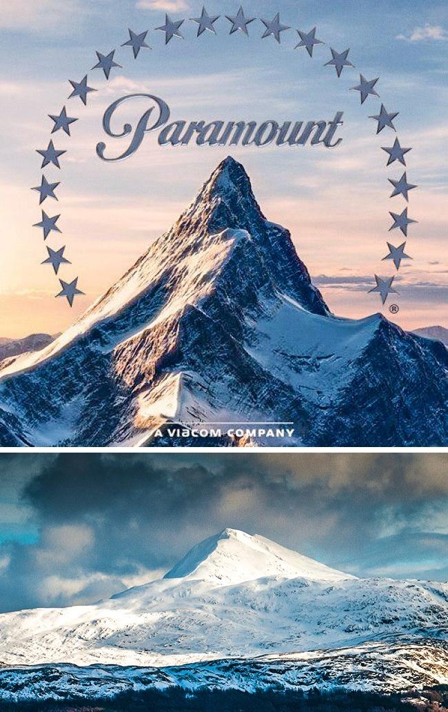 Logo di studio Paramount dibuat oleh seniman bernama William Hodkinson yang menggambar sebuah gunung yang mirip banget seperti gunung Ben Lomond di Utah, AS. Versi aslinya dibuat pada 1914 dengan 24 bintang yang merupakan jumlah aktor yang menandatangani kontrak dengan studio itu. Kini, jumlah bintangnya hanya 22, dan tak ada yang tau kenapa alasannya pulsker.
