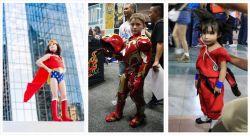 9 Foto Aksi Lucu Anak-Anak Saat Memakai Cosplay Tokoh Favorit Mereka, Gemesnya Jadi Pengen Nyubit !