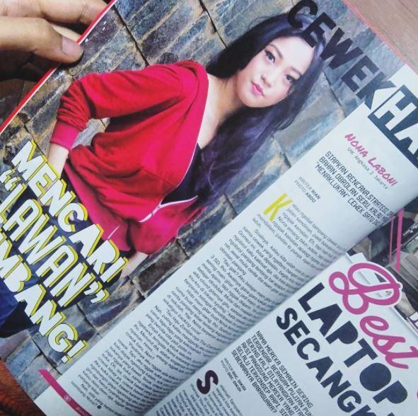 Sempet jadi berita nih di sebuah majalah anak muda. Sosoknya dikupas tuntas dalam artikel di majalah itu.
