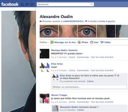 Alexandre Oudin adalah seorang seniman asal Perancis pulsker. Nggak kaget ya kalau profil akun Facebooknya sekeren ini.