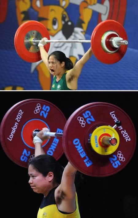Seorang atlet angkat berat asal Australia jadi sorotan banyak media saat olimpiade di London pulsker. Wanita bernama Seen Lee emang berhasil, tapi bulu keteknya itu lho yang bikin orang bertanya-tanya. Dia sih nggak masalahin pulsker.