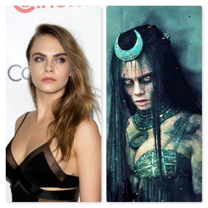 Sama juga kayak Cara Delevingne yang memerankan Enchantress dalam 'Suicide Squad' tahun 2016 lalu. Seksinya hilang seketika.