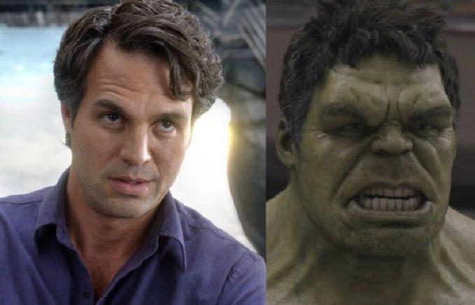 Sosok Hulk dalam film 'The Avengers' tahun 2012 lalu diperankan oleh Mark Rufallo pulsker. Berubah drastis banget wajahnya.